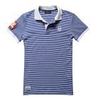 Sail Racing Grinder Polo Stripe - Blue