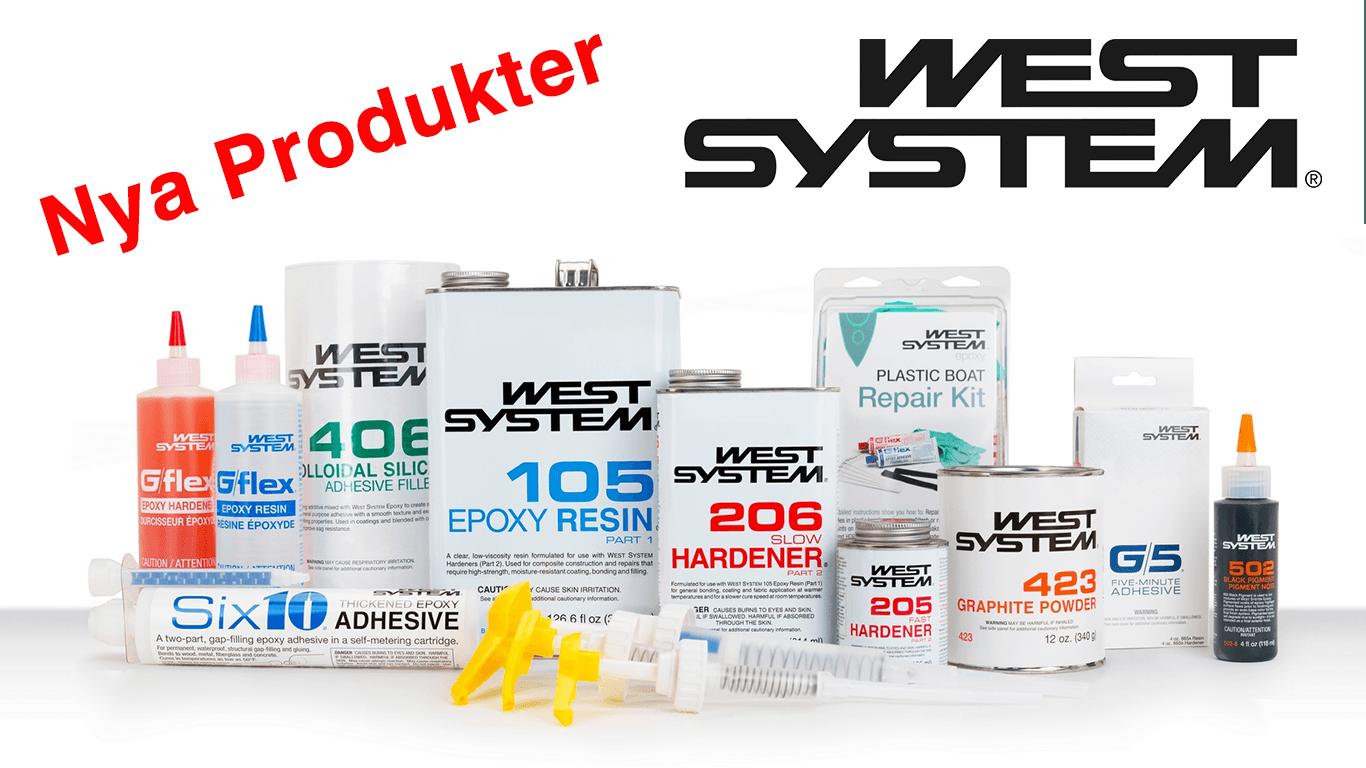 West System Nya Produkter