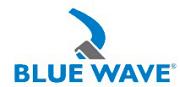 Logotyp Blue Wave