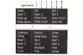 Bild på Spinlock Etiketter till avlastare