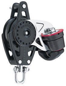 Bild på Harken 75 mm Carbo Single/swivel/150 Cam-Matic®/becket
