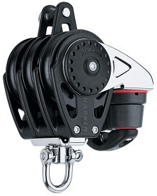Bild på Harken 75 mm Carbo Triple/swivel/150 Cam-Matic®/becket