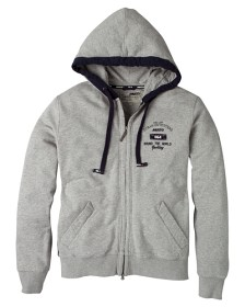 Bild på Hooded Graphic Jacket Grey