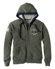Bild på Hooded Graphic Jacket Military