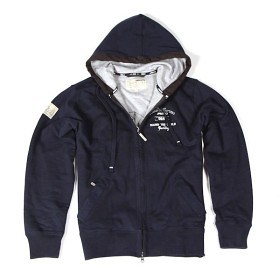 Bild på Hooded Graphic Jacket Navy