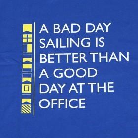 Bild på A bad day sailing is better...