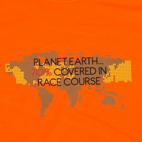 Bild på Planet Earth... 70% covered in race course