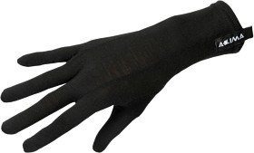 Bild på Aclima LightWool Liner Gloves Jet Black