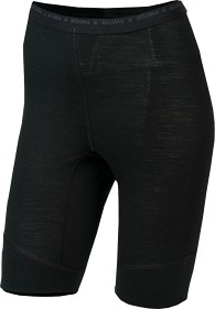 Bild på Aclima Lightwool Shorts Long Woman Jet Black