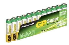 Bild på Batteri Super AAA LR03 1,5V 12 st