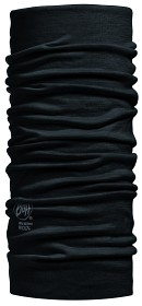 Bild på Buff Lightweight Merino Wool Buff Solid Black