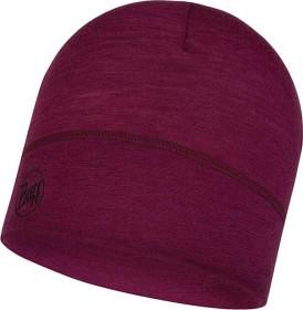 Bild på Buff Lightweight Merino Wool Hat Solid Purple Raspberry