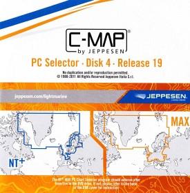 Bild på C-MAP MegaWide sjökort