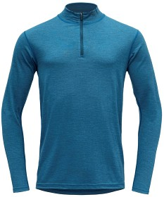 Bild på Devold Breeze Man Half Zip Neck Blue Melange