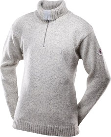 Bild på Devold Nansen Sweater Zip Neck Unisex Grey Melange