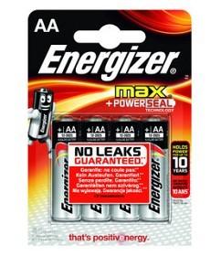 Bild på Energizer Max batteri AA (1,5 V) 4 st