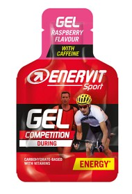 Bild på Enervit Sport Gel Koffein Hallon 25 ml