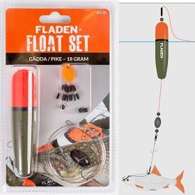 Bild på Fladen Float Set Pike (Gädda) 18 g