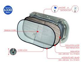Bild på Fukt / värme isolering för portlights – liten