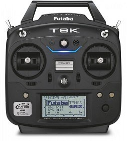 Bild på Futaba T6K-V2 8-Channel 2.4GHz Computer Radio Set