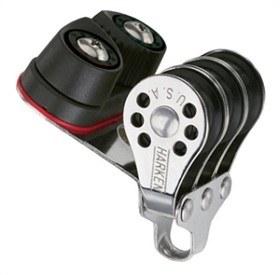 Bild på Harken 22 mm Micro Triple w/Cam Cleat