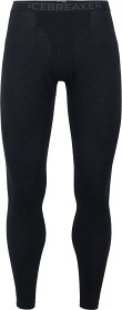 Bild på Icebreaker M's Oasis Leggings w Fly 200 Black/Monsoon