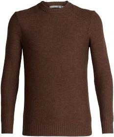 Bild på Icebreaker M's Waypoint Crewe Sweater Bronze Hthr
