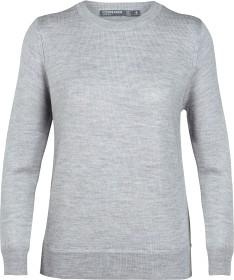 Bild på Icebreaker W's Muster Crewe Sweater Steel Hthr