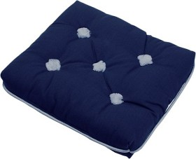 Bild på Kapock-kudde blå enkel