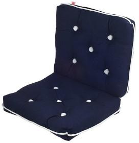 Bild på Kapock-kudde mörkblå dubbel