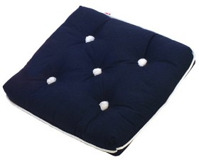 Bild på Kapock-kudde mörkblå enkel