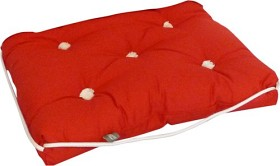 Bild på Kapock-kudde röd enkel