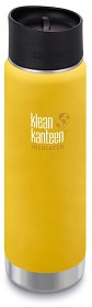 Bild på Klean Kanteen 592 ml Wide Insulated Café Cap Lemon Curry