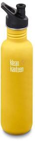 Bild på Klean Kanteen 800 ml Classic Sport Cap Lemon Curry