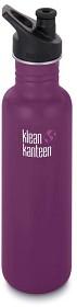 Bild på Klean Kanteen 800 ml Classic Sport Cap Winter Plum