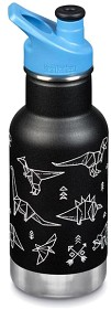 Bild på Klean Kanteen Insulated Kid Classic 355 ml with Sport Cap Paper Dinos