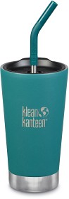 Bild på Klean Kanteen Insulated Tumbler 473ml with Straw Lid Emerald Bay