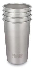 Bild på Klean Kanteen Steel Pint 473 ml 4-pack Brushed Stainless