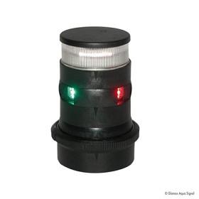 Bild på Lanterna Aqua Signal 34 LED 3-färg/Ankar Quickfit Svart
