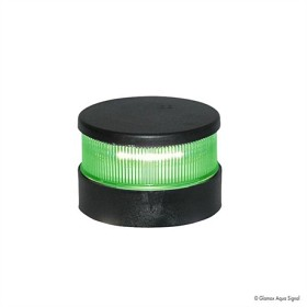 Bild på Lanterna Aqua Signal 34 LED Grön Runtlysande Svart