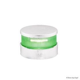 Bild på Lanterna Aqua Signal 34 LED Grön Runtlysande Vit