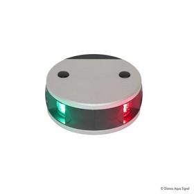 Bild på Lanterna Aqua Signal 34 LED Kombi Alu/Silver