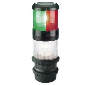 Bild på Lanterna Aqua Signal 40 3-färg med ankar Quickfit fäste Svart
