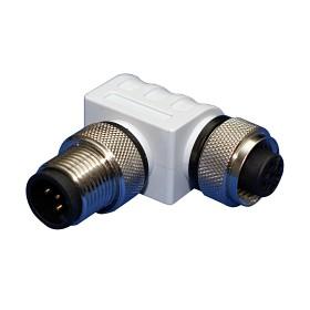 Bild på Maretron Micro / mid 90° male to female metal connector