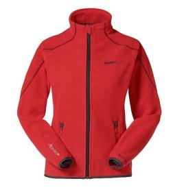 Bild på Musto Essential Fleece Jacket FW - Red (Dam 12)