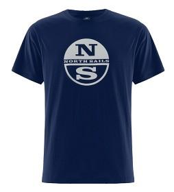 Bild på North Sails Logo T-Shirt - Navy