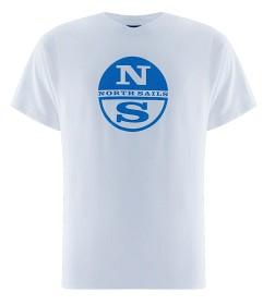 Bild på North Sails Logo T-Shirt - White