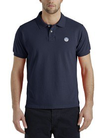Bild på North Sails Polo S/S With Patch - Marine Blue
