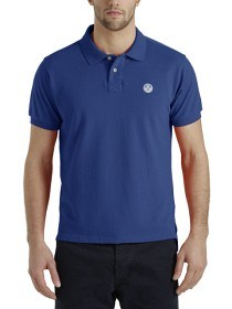 Bild på North Sails Polo S/S With Patch - Royal Blue