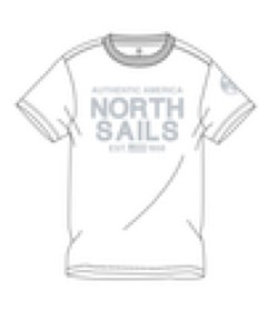 Bild på North Sails T-shirt Classic - White